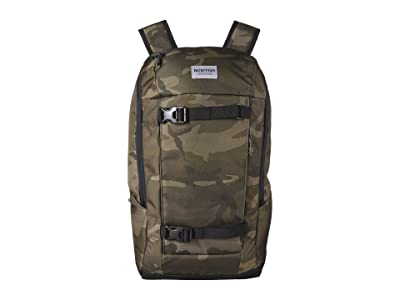 Burton Kilo 2.0 Backpack (Worn Camo Print) Backpack Bags