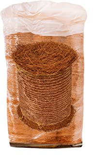 Longleaf Pine Straw Roll for Landscaping - Brown Color UV Resistant – 18 Rolls Per Pallet - Covers Up to 2,250 Square Feet
