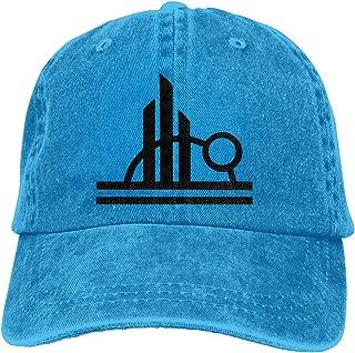 blue denim cap