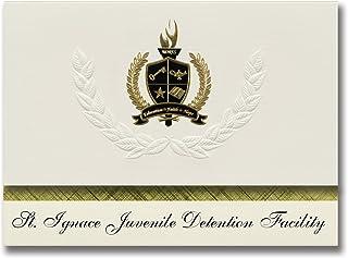 Signature Announcements St. Ignace Juvenile Detention Facility (St. Ignace, MI) Graduation Announcements, Presidential Bas...