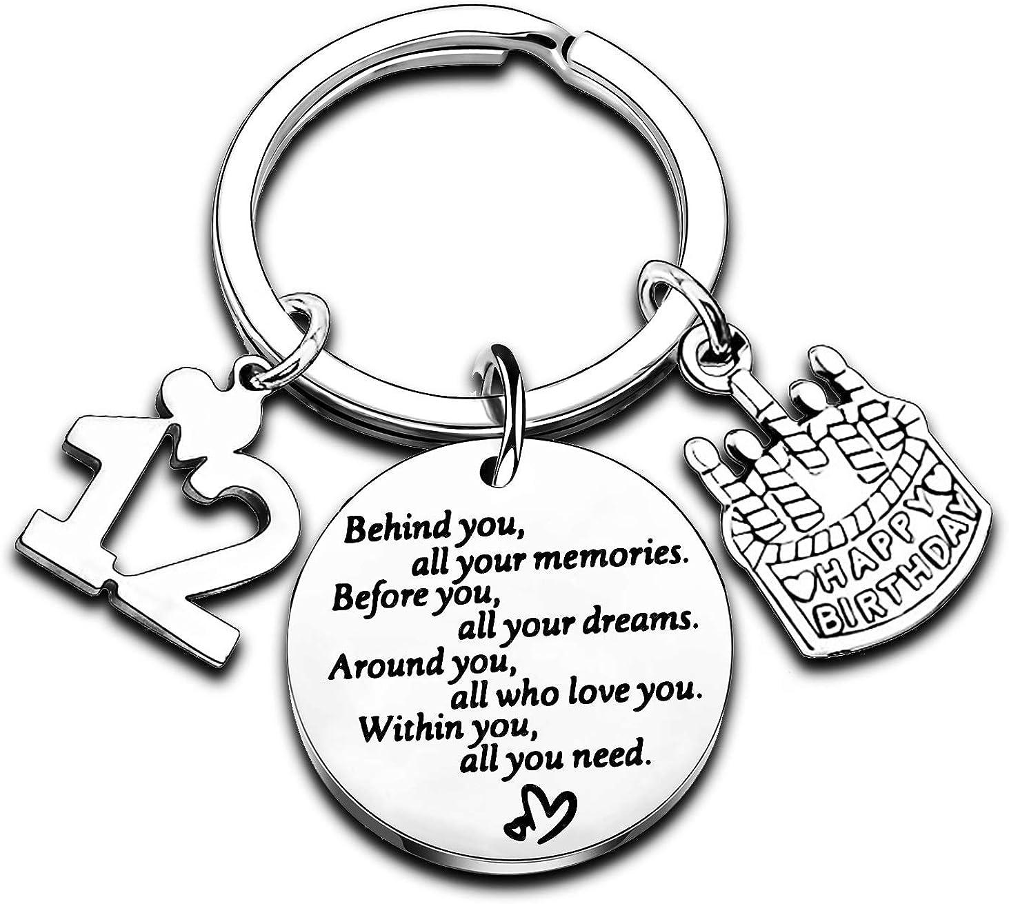 Birthday Keychain Gifts for Gift 5 ☆ Max 49% OFF popular Women Inspiratio Girls