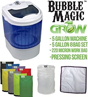 5 Gallon Bubble Magic Washing Machine + Ice Hash Extraction 8 Bags Kit GROW1