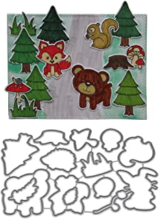 Dabixx Zoo Cutting Dies Dies Dies Stencil for DIY Scrapbooking Embossing Album Paper Card Craft B07FVKRXD6  Feinbearbeitung 675b1e