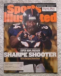 Shannon Sharpe - Denver Broncos - Super Bowl XXXIII Preview - Sports Illustrated - February 1, 1999 - Atlanta Falcons - SI