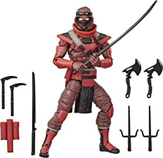 Hasbro E8983 G.I. Joe Classified Series Red Ninja Action Figure 08 Collectible Premium Toy with Multiple Accessories 6-Inc...