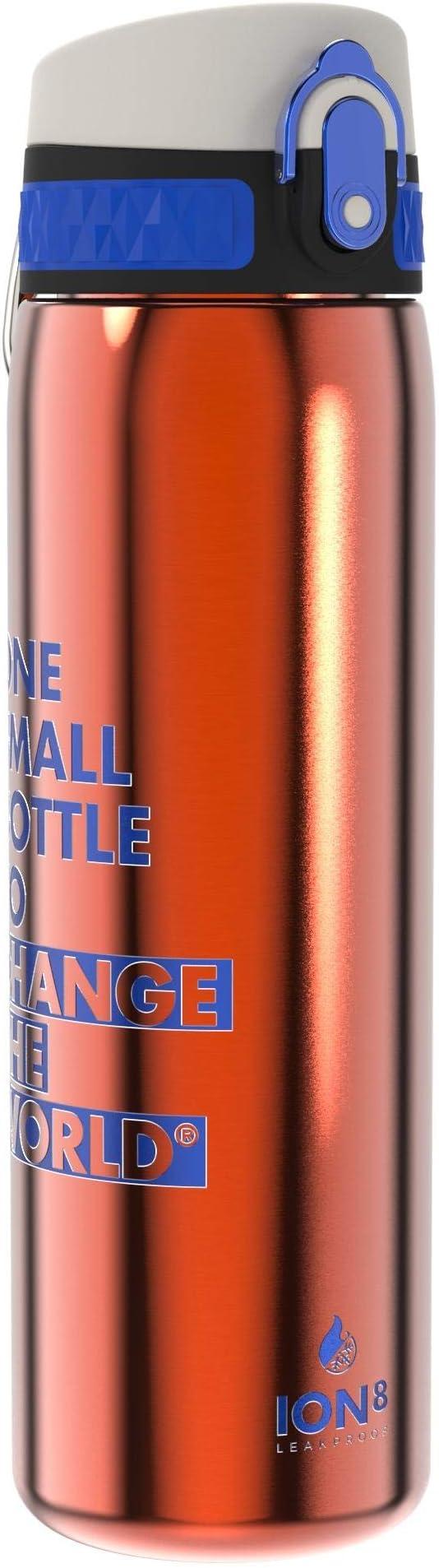 309 opinioni per Ion8 Borraccia Termica 500 ml Acciaio Inox