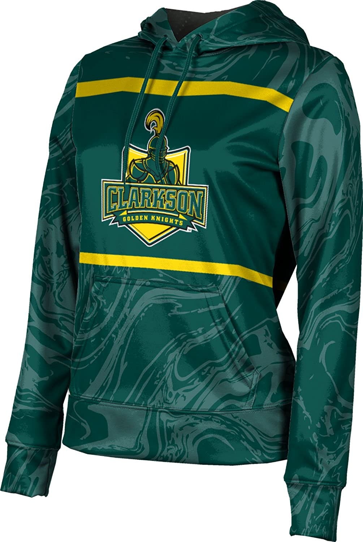 ProSphere Clarkson University Girls' Pullover Hoodie, School Spirit Sweatshirt (Ripple)