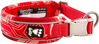 Hurtta Weekend Warrior Dog Collar , Coral Camo, 14-18 in
