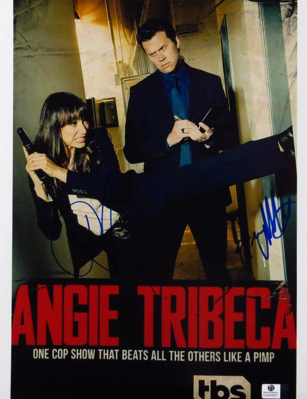 Hayes MacArthur Rashida Jones Autographed Photo Outlet sale feature Trib Ranking TOP7 Angie 11X14