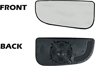 Fits (2010-2019) - Fourth Gen Dodge Ram Tow Mirror Glass (LH) Left Driver Outer Convex (Glass With Backing)