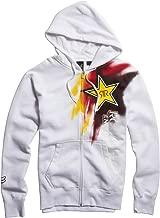 Fox Racing Rockstar Faded Zip Up Hoody White Small