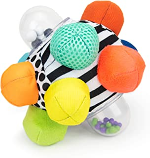 Sassy Developmental Bumpy Ball | Easy to Grasp Bumps Help...
