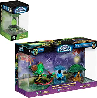 Skylanders Enchanted Elven Forest Adventure Pack with Life Creation Crystal