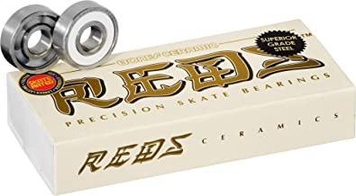 Bones Ceramic Super Reds Bearings 8mm 16 Pack