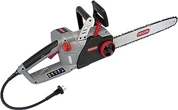 Oregon 570996 Motosierra eléctrica 220V CS1500. La Cadena se afila en 5 Segundos sin desmontarla, 3400 W, 220 V, Rojo/negro/gris