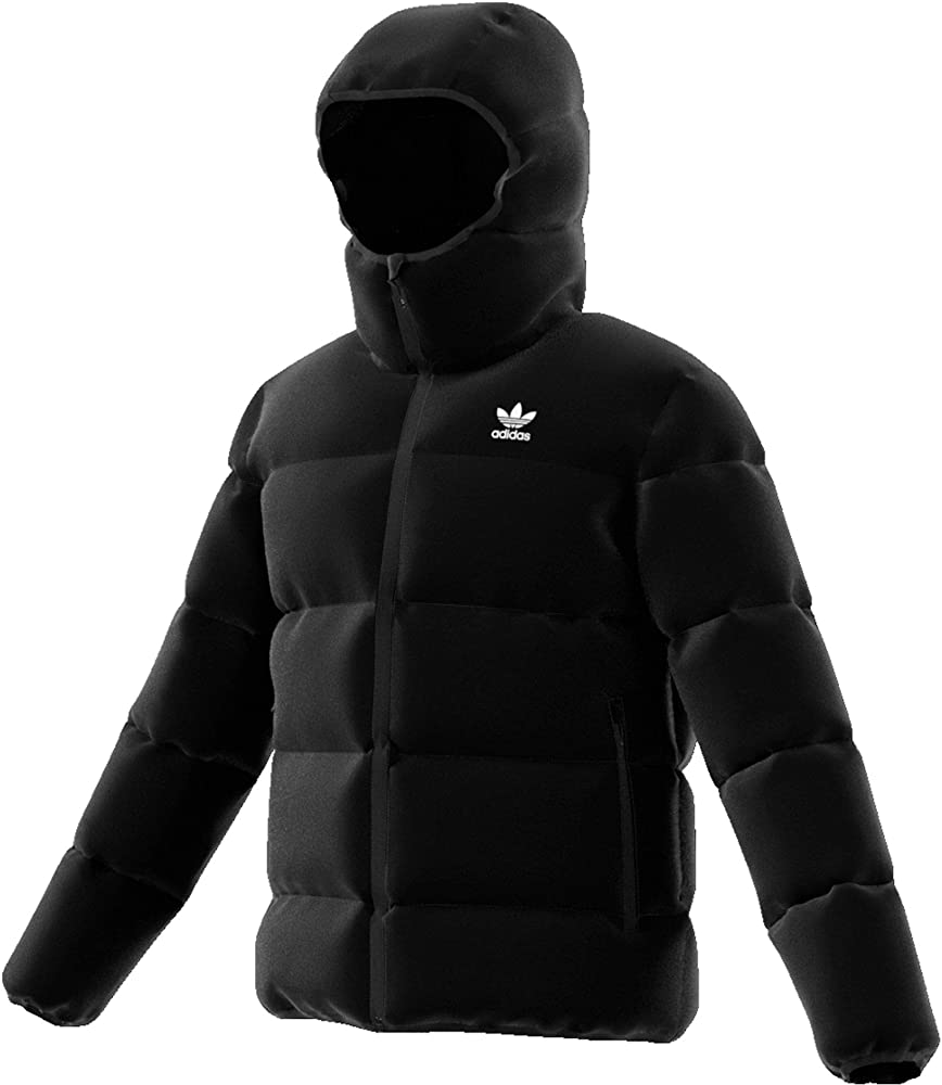 Adidas jacket padded,giubotto,piumino,in tessuto idrorepellente,100% poliestere