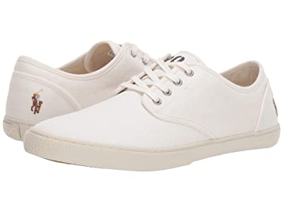 Polo Ralph Lauren Ethan Lace (White Canvas) Men