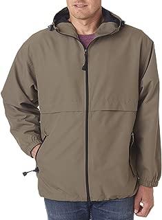 8908 Adult Microfiber Full-Zip Hooded Jacket