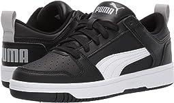 Puma Black/Puma White/High Risk