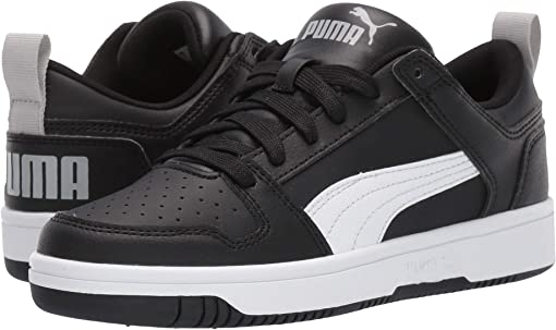 Puma Black/Puma White/High Risk