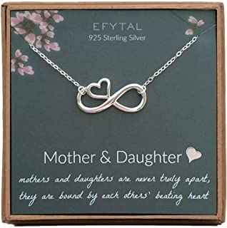 Best mom and daughter infinity necklace Reviews