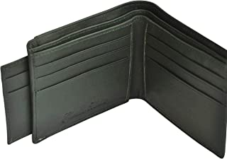 Gearfour Olive Leather For Men - Bifold Wallets