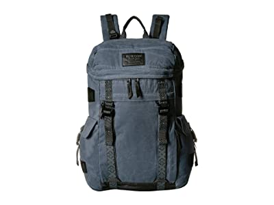 Burton Annex Pack (Dark Slate Waxed Canvas) Day Pack Bags