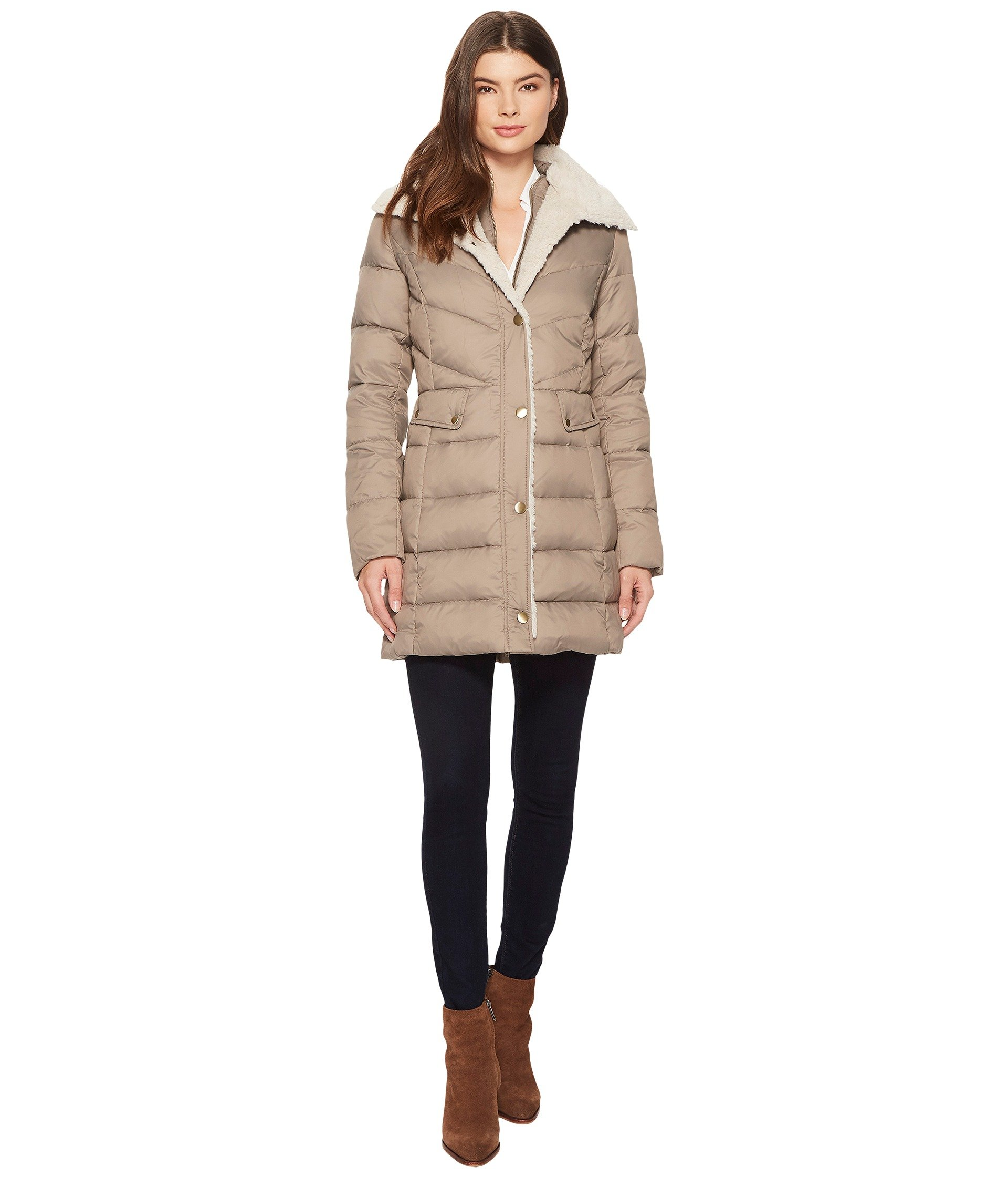 Kenneth Cole New York, Coats & Outerwear at 6pm.com : kenneth cole chevron quilted coat - Adamdwight.com
