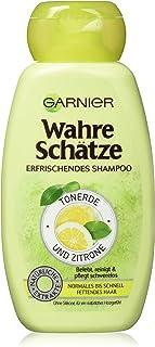Garnier Wahre Schätze Erfrischendes Shampoo Tonerde & Zitrone, belebt, reinigt und..