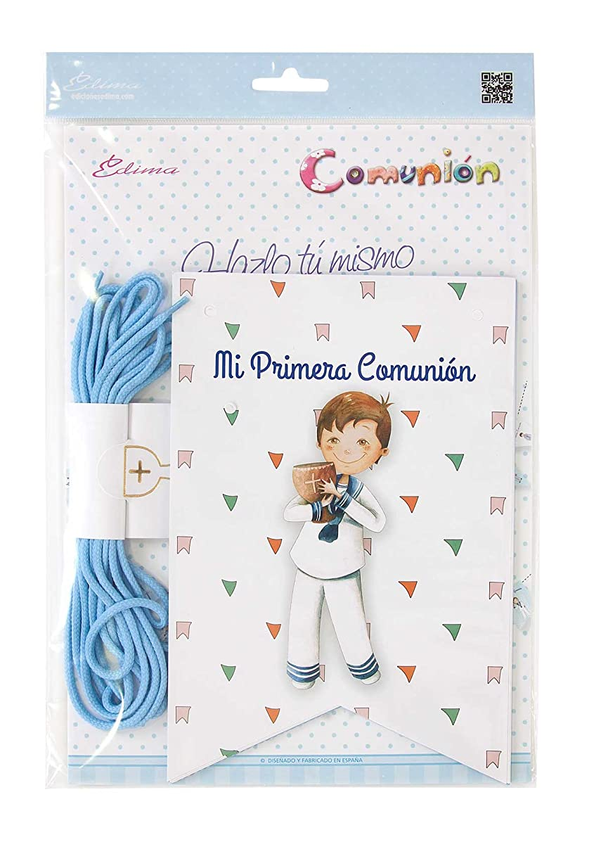 Edima?–?Bag with DIY My First Communion Banners (465907-B) (English Language Not Guaranteed)