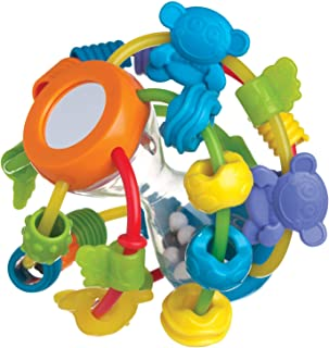 Playgro Play And Learn Ball Activity And Amusement Toy, Blue And Green