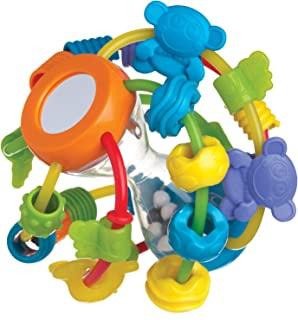 Playgro Play And Learn Ball Activity And Amusement Toy, Blue And Green [Pg4082679] (Colourful)