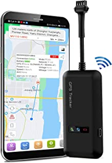 Bilspårare fordonsspårare realtidsspårning GSM GPS-spårare för bil 12-36V Google Maps gratis app för fordon auto motorcyke...