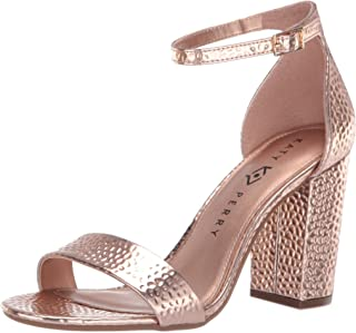 Katy Perry Women's The Goldy Heeled Sandal rose gold 6.5 M M US