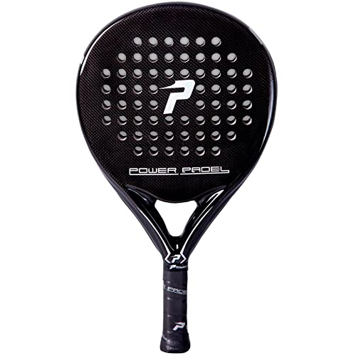 Pala Power Padel Black Brillo: Amazon.es: Deportes y aire libre
