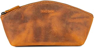Londo Genuine Leather Versatile Gondola Style Handbag - Unisex (Camel)