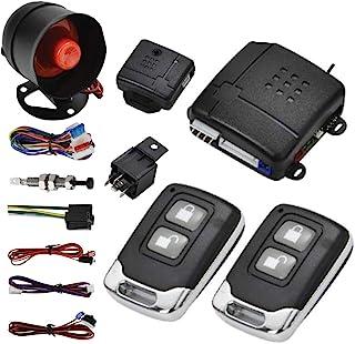 MASO Car Central Lock Universal Auto Remote Central Kit Vehicle Door Lock with Shock Sensor + Contorl Box + 2 Remote Conto... photo