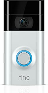 Ring Video Doorbell 2 -Quick Release Rechargable Battery powerd Wi-Fi Doorbell Security Camera with  Two way talk - Full H...