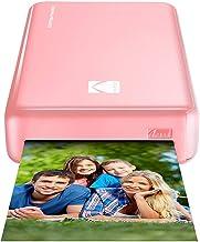 Kodak - Impresora fotográfica mini 2HD, instantánea, inalámbrica y portátil, con tecnología de impresión patentada 4Pass,compatible con iOS y Android, rosa