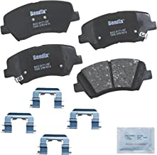 Bendix CFC1595 Premium Copper Free Ceramic Brake Pad (with Installation Hardware Front)