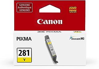 Canon Genuine Ink Cartridge CLI-281 Yellow Ink