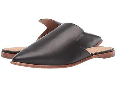 Madewell Gemma Mule in Leather (True Black) Women