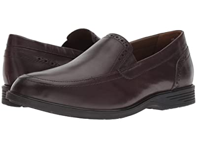 Hush Puppies Shepsky Slip-On (Dark Brown Leather) Men