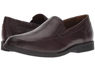 Hush Puppies Shepsky Slip-On (Dark Brown Leather) Men
