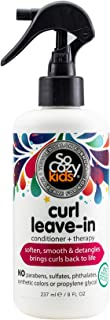 SoCozy Curl Spray | Leave-In Conditioner | For Kids Hair | Detangles and Restores Curls | 8 fl oz | No Parabens, Sulfates,...