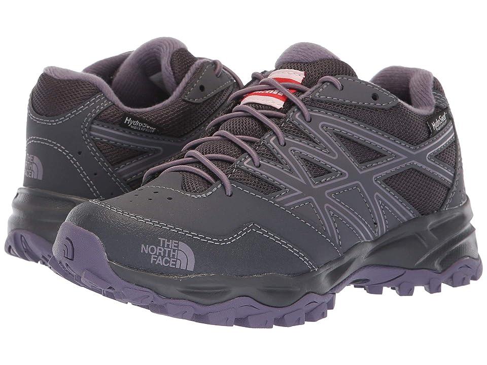 The North Face Kids Hedgehog Hiker Waterproof (Little Kid/Big Kid) (Periscope Grey/Purple Sage) Girls Shoes