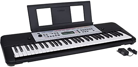 YAMAHA YPT260 61-Key Portable Keyboard With Power Adapter (A