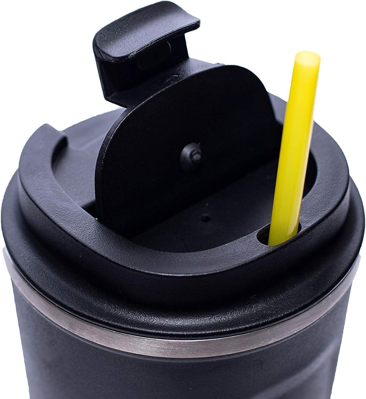 Good Morning Travel Mug//caf/é Mug isotherme 510 ml Garde au chaud pendant 8h 12h au froid 100/% /étanche