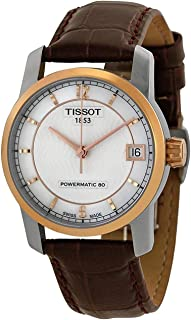 Tissot Womens Automatic Watch, Analog Display and Leather Strap T087.207.56.117.00