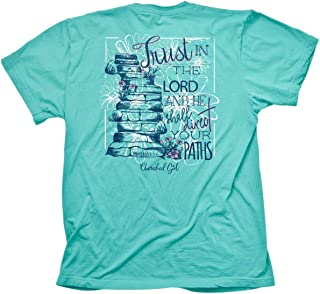 Women's Proverbs 31 T-Shirt - Turquoise -